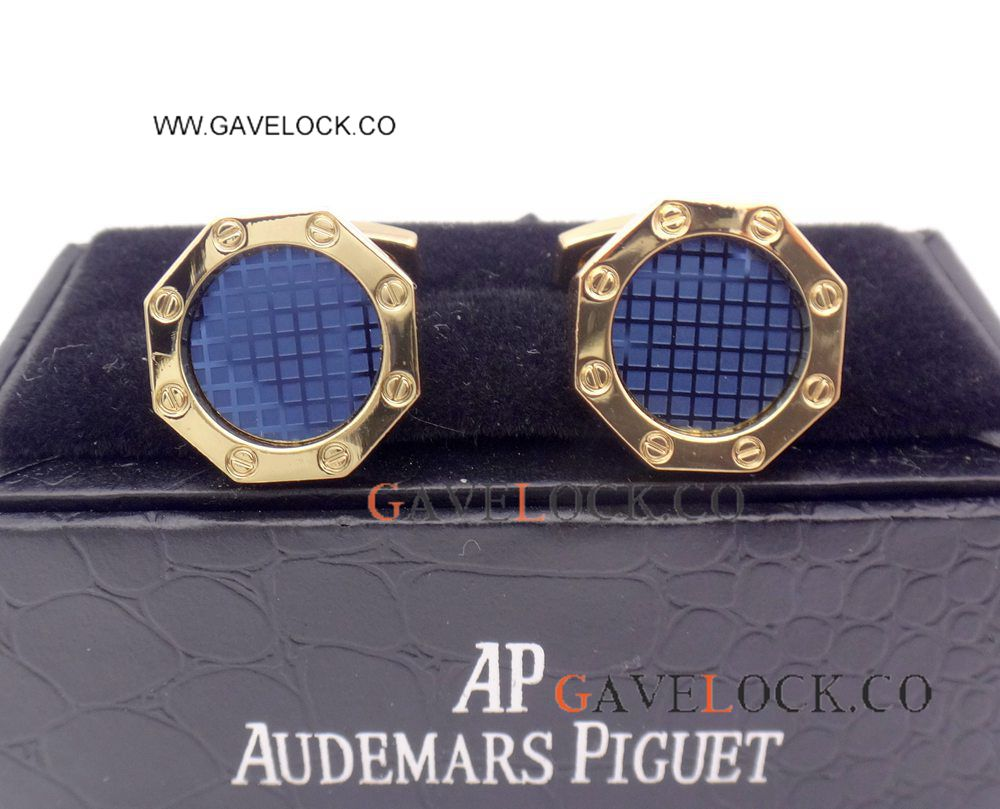 Buy Wholesale Audemars Piguet Gold Cufflinks Royal Oak Mens